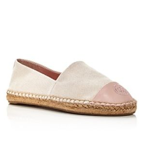 NEW Tory Burch Color Block Espadrille Flats